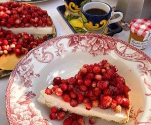aesthetics, baking, and cake image