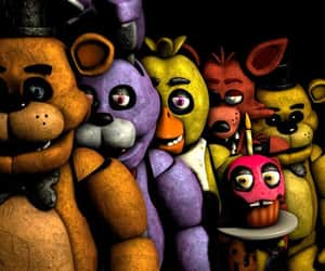 fnaf and five night at freddy's image
