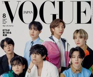 jin, v, and Vogue Japan image
