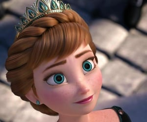 anna, disney, and Queen image