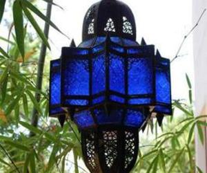 blue and lamp image