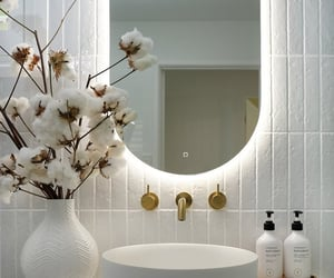 bath, house, and white image