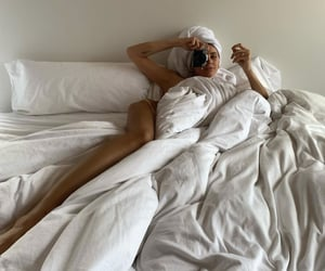 art, articles, and bed image