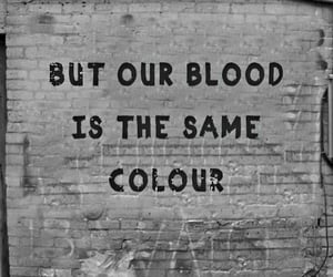 black lives matter, black and white, and quotes image