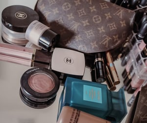 chanel, Louis Vuitton, and YSL image