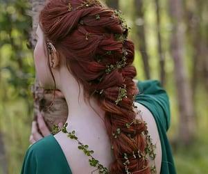 hair, princess, and beauty image