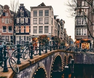 amsterdam, travel, and wanderlust image
