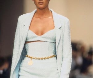 fashion, blue, and chanel image
