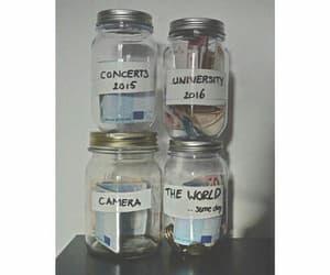 concerts, jars, and saving money image
