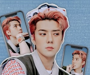 aesthetic, exo, and kpop wallpaper image