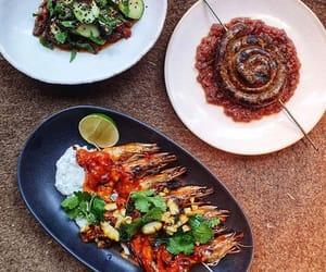 chilli, prawn, and sausage image