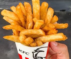 ketchup, KFC, and potato chips image