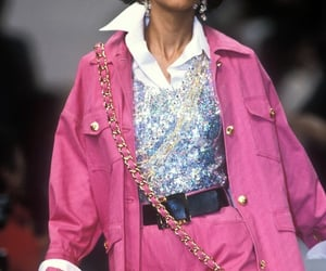 chanel, look, and mannequin image