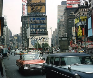 50s, nyc, and United States of America image