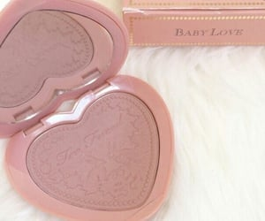 pink, too faced, and blush image