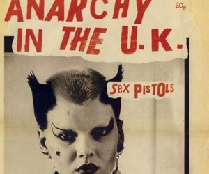 sex pistols, punk, and anarchy in the uk image
