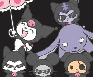 best friends, kuromi, and baku image