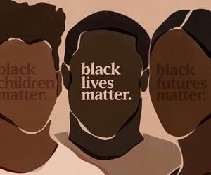 blm, blacklivesmatter, and justiceforahmaudarbery image