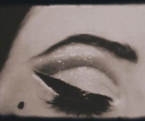 beauty, eyeliner, and make up image