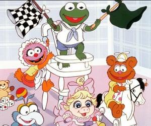 80s, babies, and cartoons image