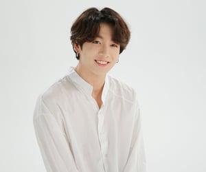 kpop, jeon jungkook, and white image