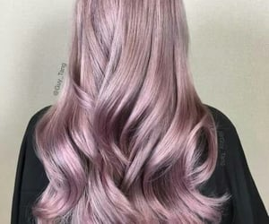 color, long hair, and hair image