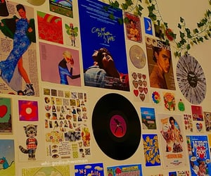pic of my photo/music wall!