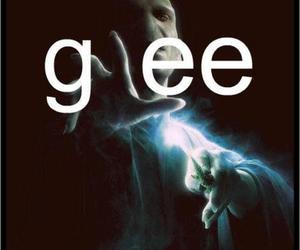 glee, harry potter, and voldemort image