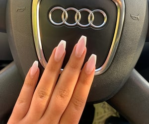 beauty, french, and nails image