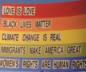 love, equality, and immigrants image