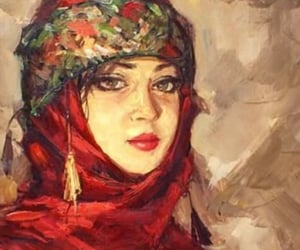 art, red, and anatolian image