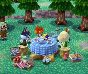 animal crossing, punchy, and goldie image