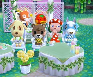 animal crossing, goldie, and ketchup image