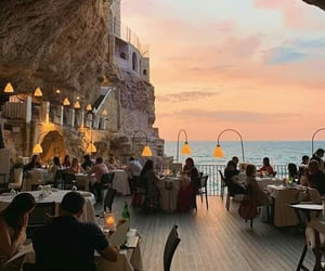 sunset, travel, and italy image