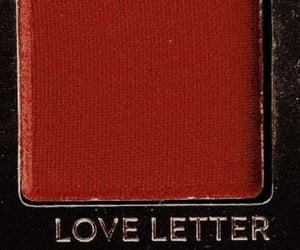 red, aesthetic, and eyeshadow image