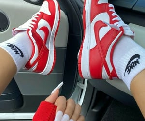 fashion, nike, and trend image