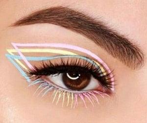 colores, elegante, and eyes image