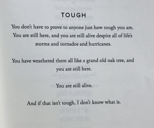 poem, quote, and tough image