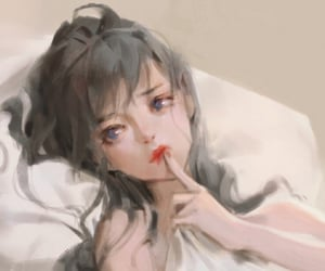 anime, girl, and nice image