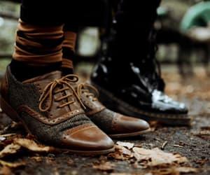 autumn, fashion, and shoes image