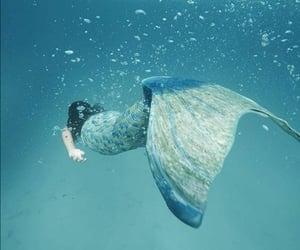 mermaid, aesthetic, and fairy image