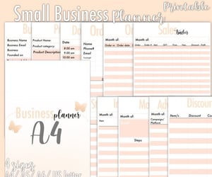 etsy, printables, and printable planner image