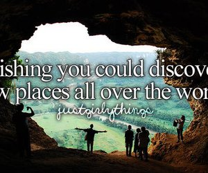 world, discover, and travel image