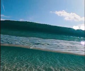 beach, gif, and ocean image