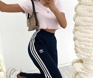 pants and sporty chic image