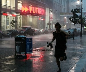 rain, grunge, and boy image
