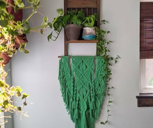etsy, eclectic decor, and macrame tapestry image