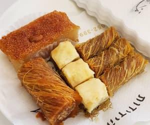 baklava, cake, and dessert image