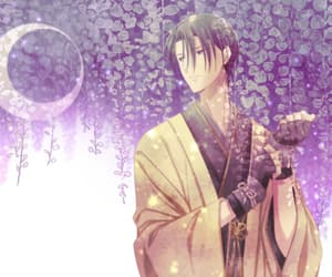 anime, wisteria, and ikemen image
