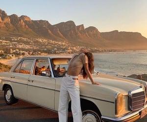 car, girl, and fashion image